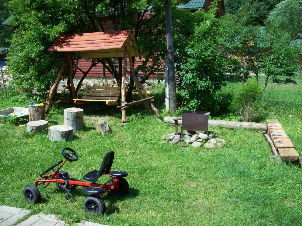 Мангал во дворе фото